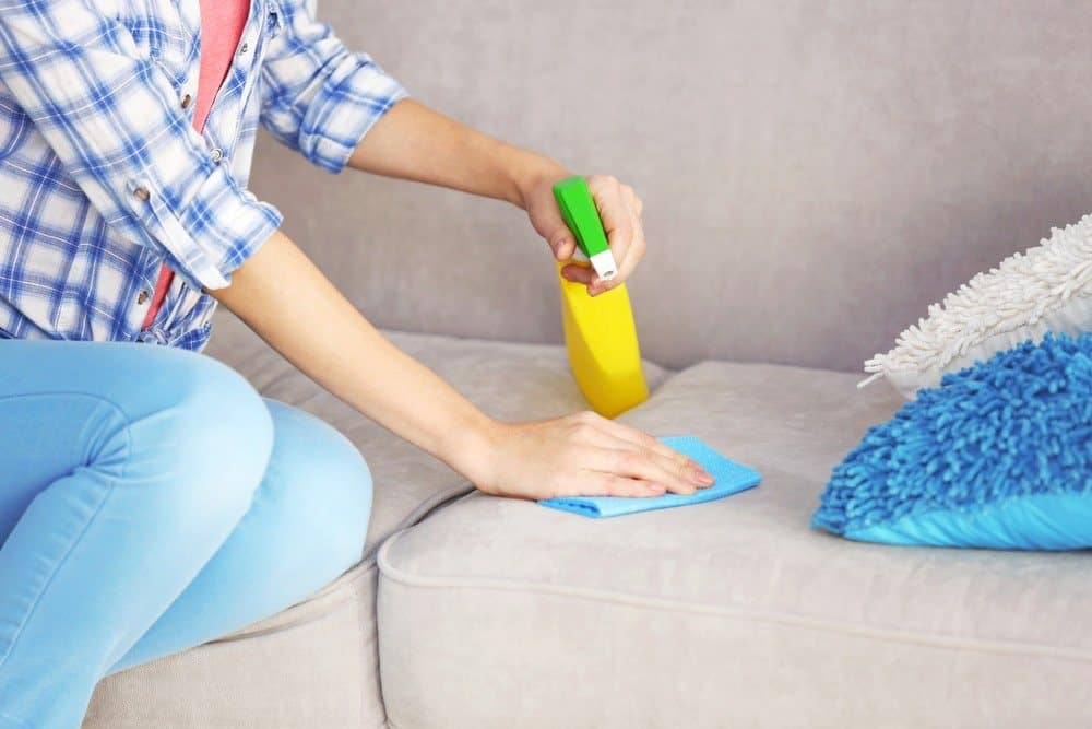 FURNITURE CLEANING RECIPES FOR SYNTHETIC UPHOLSTERY