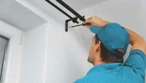 Curtains Installation service in UAE - Helpire
